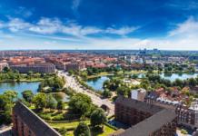 Trevliga ställen att besöka i Danmark
